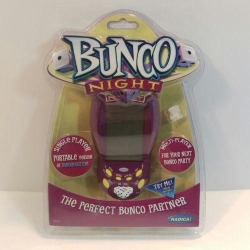 NIB Sealed Bunco Night Handheld Game by Radica