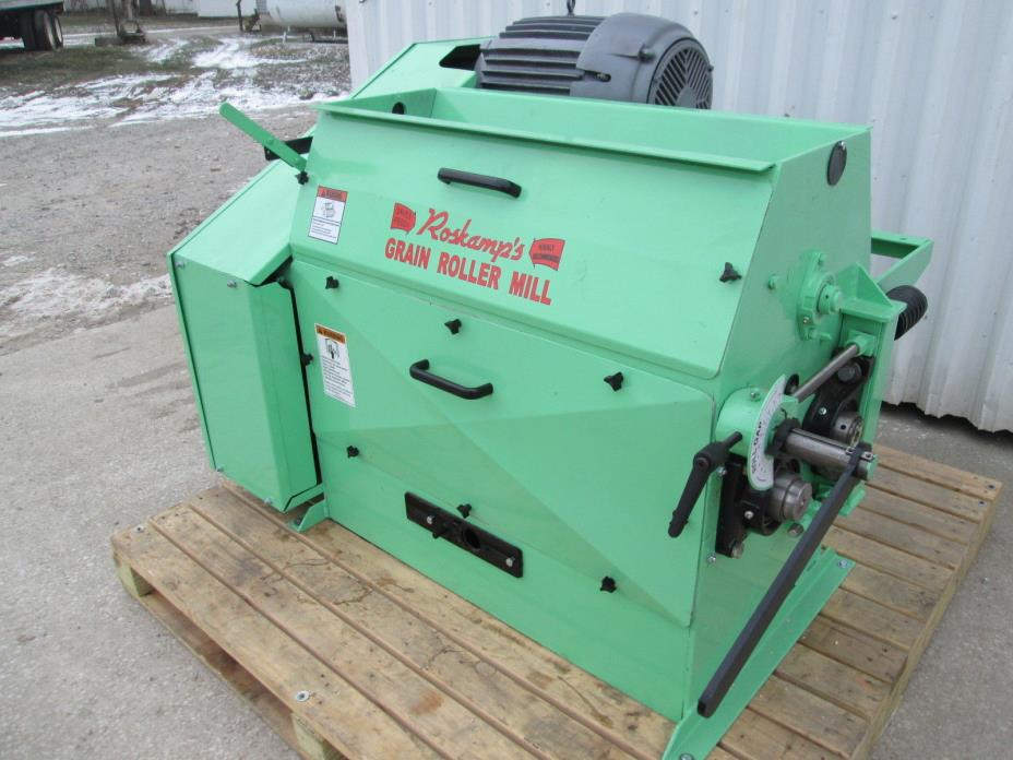 Roskamp 9x36 Single Pair Roller Mill 25 HP