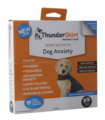 ThunderShirt Classic Dog Anxiety Jacket, Heather Gray, X-Small
