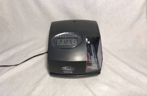 Lathem 1000E Digital Display Time Clock With AC Adapter