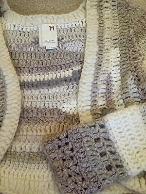 Anthropologie Cropped Cardigan size M