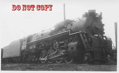 6G036 RP 1940/50s C&O CHESAPEAKE & OHIO RAILROAD ENGINE #2770  RUSSELL KY
