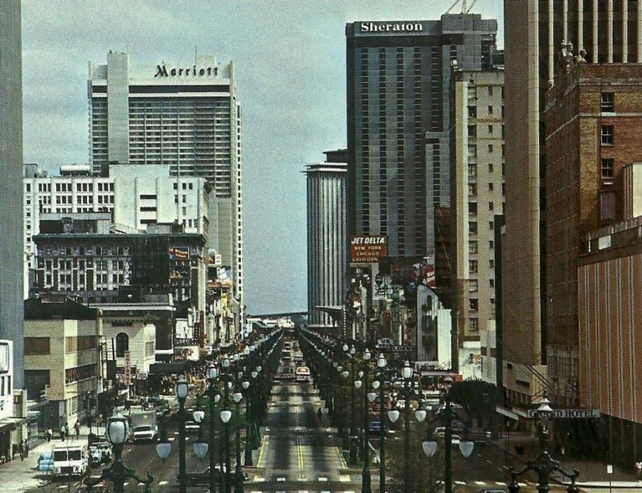 CANAL STREET, CHROME, UNPOSTED, NEW ORLEANS, LOUISIANA