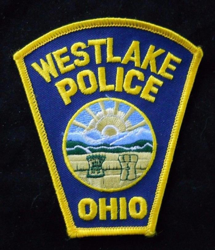 Westlake Ohio Police Department Patch ~ Embroidered ~ New ~