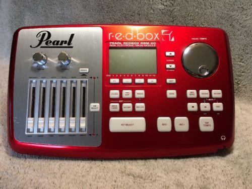 Pearl r.e.d.box RBM-20 Real Electronic Drum Module  5861-1