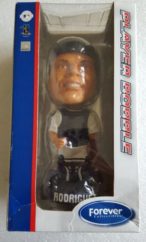 2005 FOREVER COLLECTIBLES * IVAN PUDGE RODRIGUEZ * PLAYER BOBBLE BOBBLEHEAD