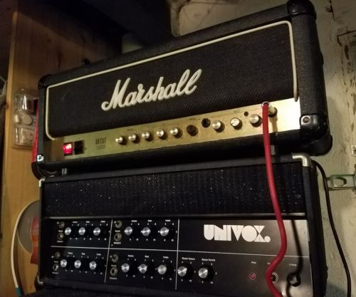 MARSHALL ARTIST 30w el84/12ax7  tube head w/ boost channel and spring verb.