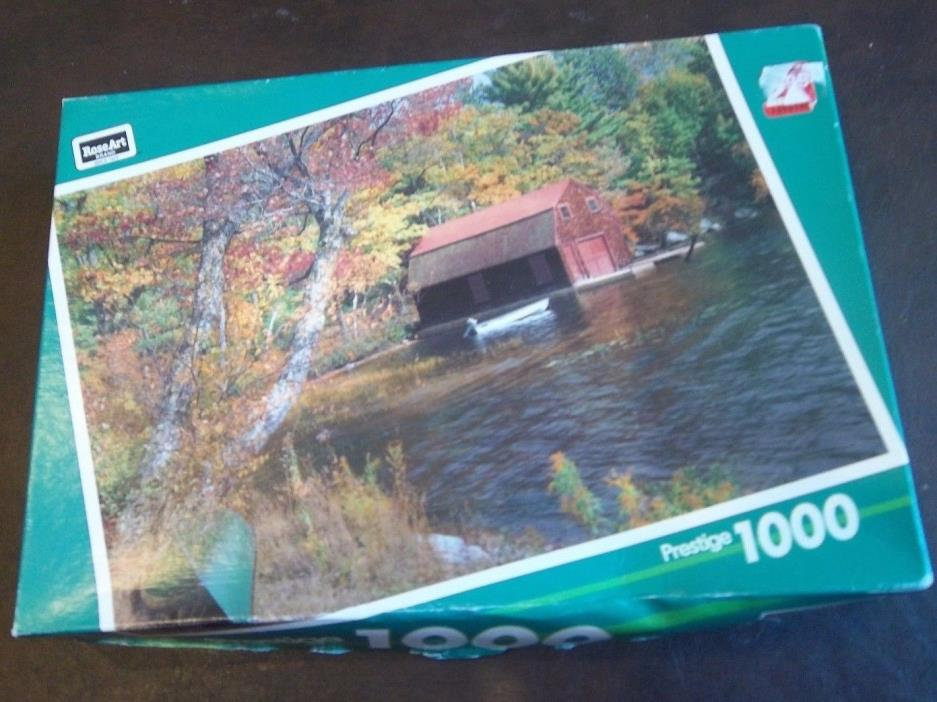 Roseart 1000 piece puzzle: Little Squam Lake.  Puzzle is sold as is.