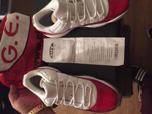 Jordan retro 11 low cherry Size 6y