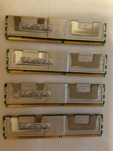 Samsung 1GB 2Rx8 PC2-5300F-555-11 RAM **LOT of 4**