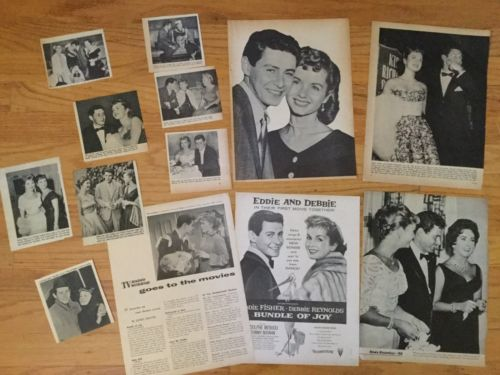 ~ Debbie Reynolds & Eddie Fisher Clippings