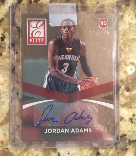 2014-15 Donruss JORDAN ADAMS Auto RC/Rookie /249 Grizzlies
