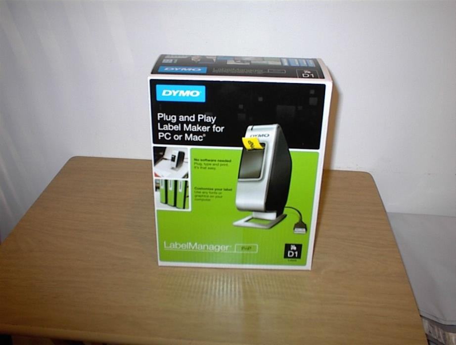 NEW dymo labelmanager d1 labels plug and play for pc or mac customize your label