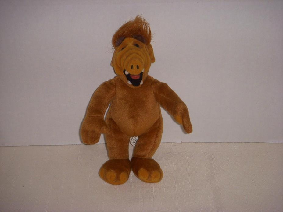 VINTAGE MINIATURE ALF PLUSH DOLL - 1986 COLECO - 8 INCHES TALL