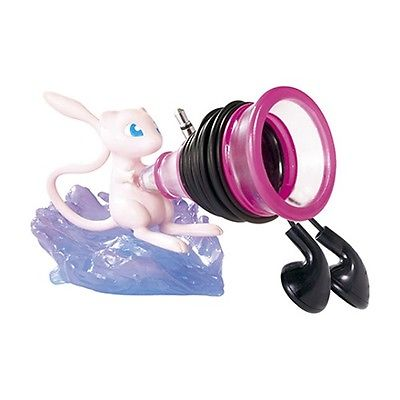 Pokemon 3-Inch Useful Desktop Figure - Mew Earphones Holder
