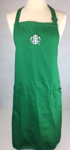 AUTHENTIC EMPLOYEE STARBUCKS BARISTA APRON