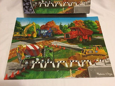 Melissa & Doug Construction Site 30 Piece 10. 25