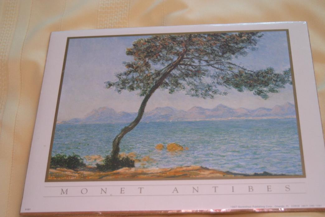 Claude Monet Cap D Antibes unframed picture
