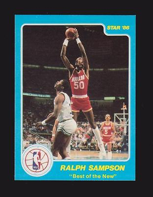 1986 Star Best of the New #4 Ralph Sampson - NMMT