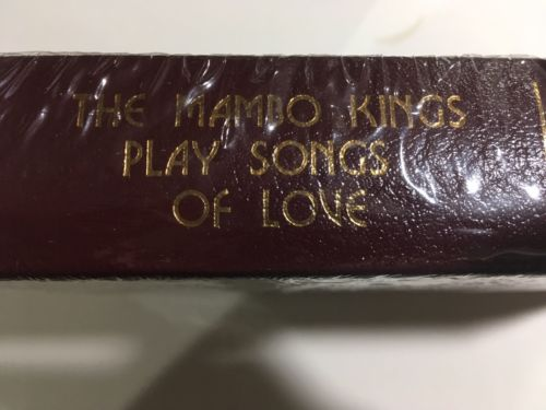 Easton Press MAMBO KINGS PLAY SONGS OF LOVE, Oscar Hijuelos Signed Edition