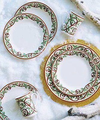 Pickard Winter Festival Salad Plate