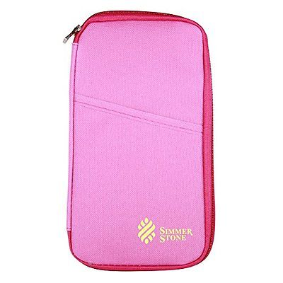 Multi-function Travel Passport Credit Id Card Cash Holder Organizer Wallet Bag