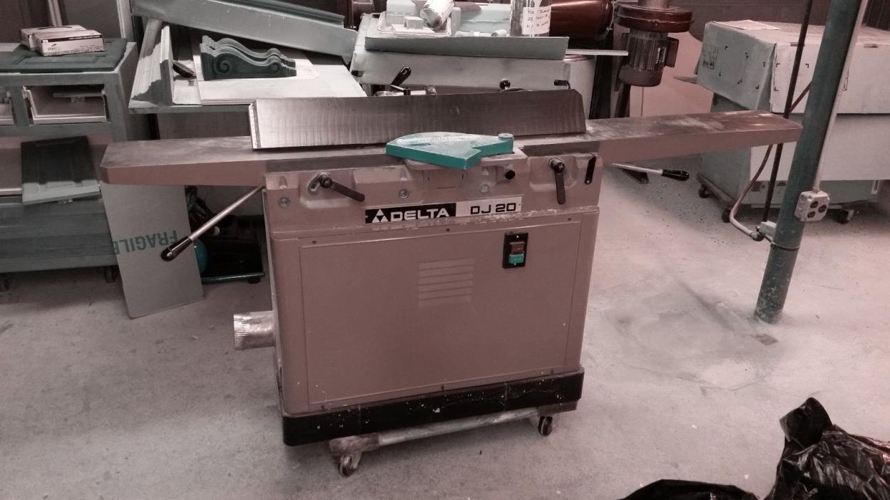 Delta DJ-20 Jointer 37-350 8