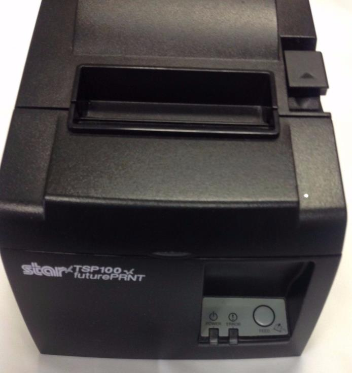 Star TSP 100 Future Print Thermal Receipt Printer Great Condition