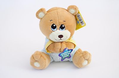 NUBY PRAYER PAL PLUSH TEDDY BEAR BABY TOY RECITES BEDTIME PRAYER NEW