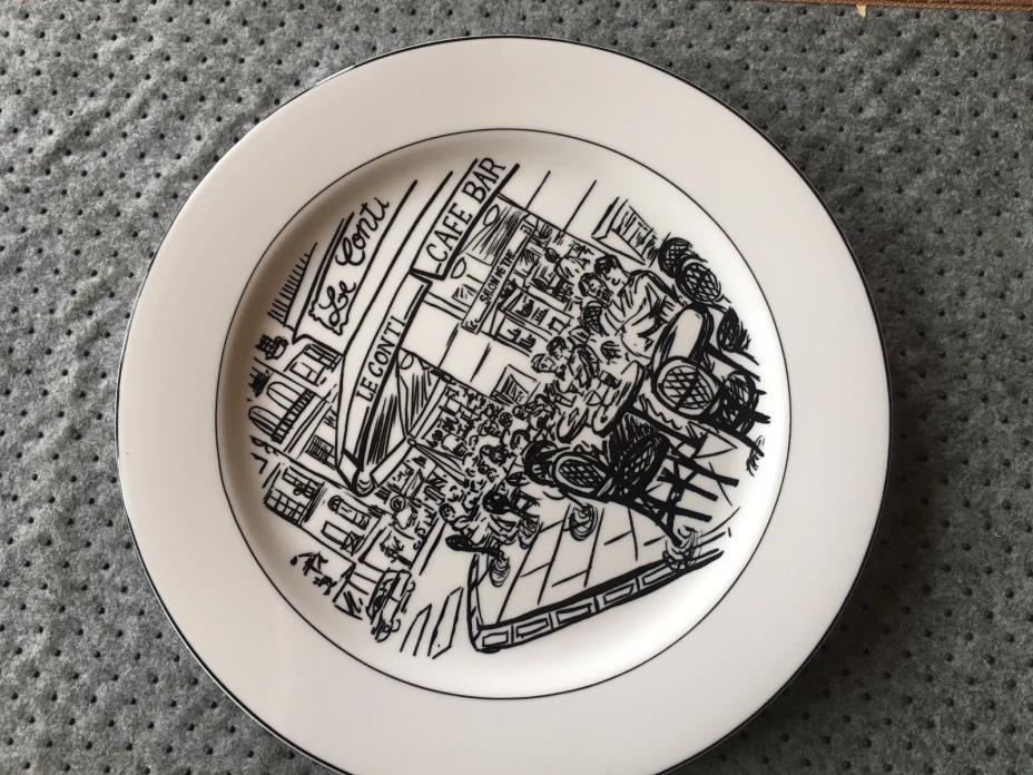Mikasa Parisian Scenes HK114 Ultima+ Design by Susan Steinberg Dinner Plate