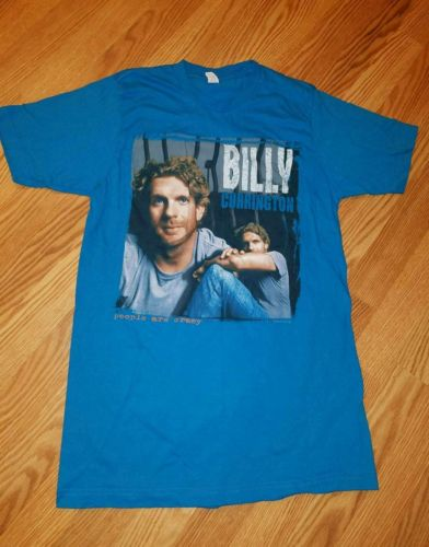 Billy Currington unisex tee shirt size medium M people are crazy concert t blue