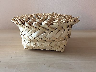 Woven Baskets Set of 10 Stacking Bamboo Braided Container Decor Home 3996