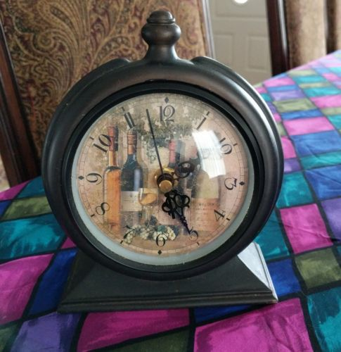 Rare old clocks, dark solid wood