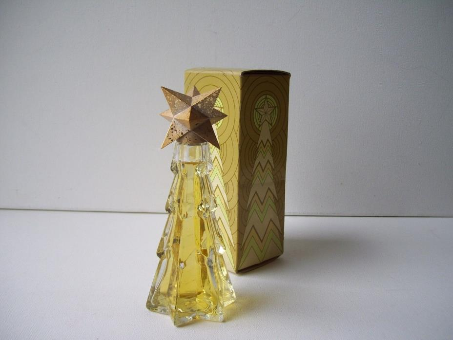 Vintage Avon Crystaltree Sonnet Cologne 3 fl.oz. ( 95% full ).
