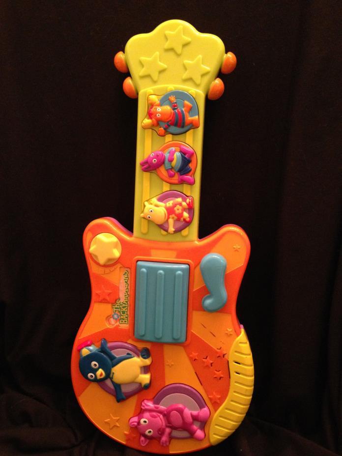 Fisher Price The Backyardigans Sing N Strum Musical Plastic Guitar Nick Jr 16