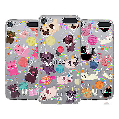 HEAD CASE DESIGNS SPACE UNICORNS SOFT GEL CASE FOR APPLE iPOD TOUCH MP3