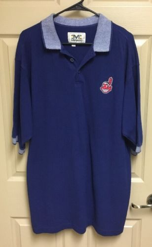 Cleveland Indians Polo Shirt XL
