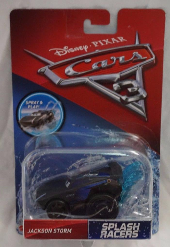 Disney Pixar Cars 3 Jackson Storm NEW Mattel 2017 Ships In A Box