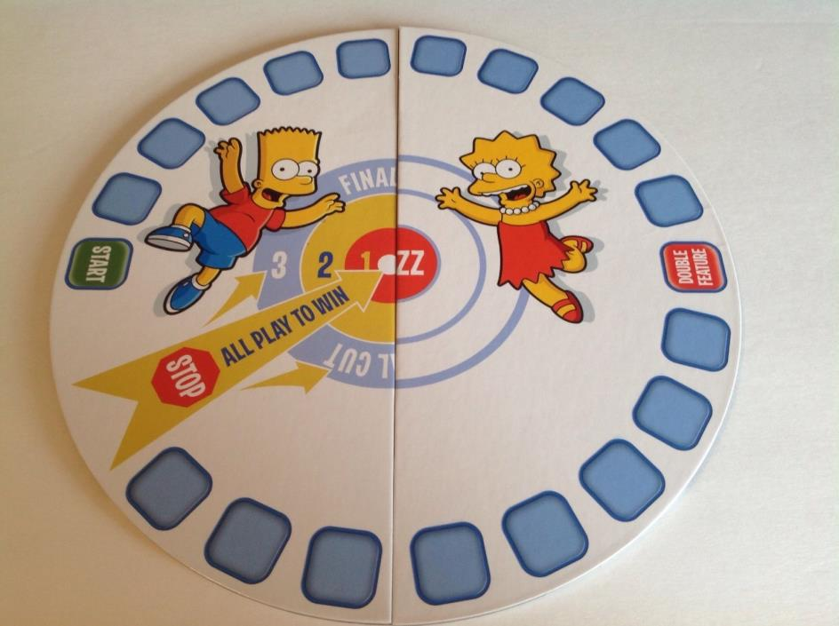 Scene It Simpsons Edition - Replacement Game Board