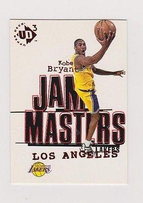 KOBE  BRYANT  1996 - 1997  UPPER DECK  UD3  JAM  MASTERS  ROOKIE  CARD