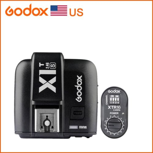 Godox X1T-S 2.4G XTR-16 Receiver Transmitter for SK300 SK400 AD360 AD180 Flash