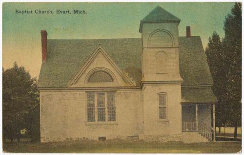 Baptist Church, Evart, Michigan 1911