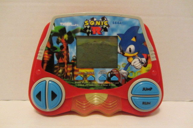 Sonic The Hedgehog Sonic R Racing Electronic Handheld Travel Game Sega Tiger