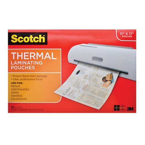 Lot of 4 Scotch Thermal Laminating Pouch 11