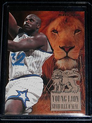 1994 - 1995 Fleer Basketball Shaquille O'Neal Young Lion
