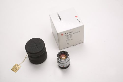 Leica 50mm Summicron Chrome V5 6-Bit Coded Mint