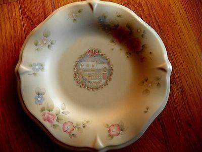 Pfaltzgraff Tea Rose Serving Plate Display sculpured 9