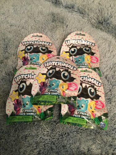 New Release - 5 - Hatchimals - Colleggtibles - Minis - 1 Packs - NIP