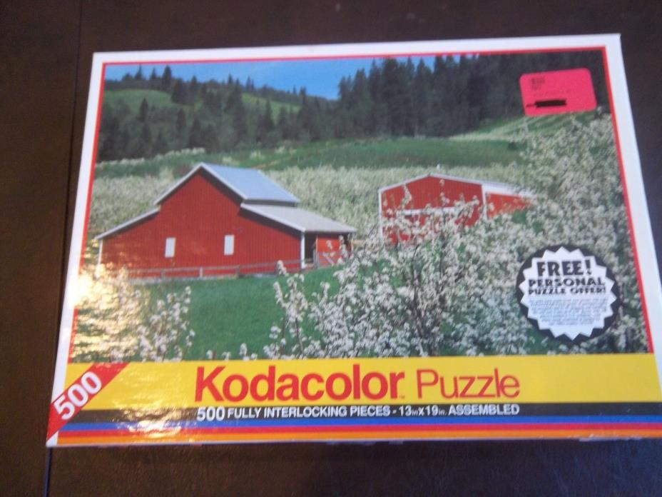 Kodacolor 500 piece puzzle: Hood River Valley, OR.