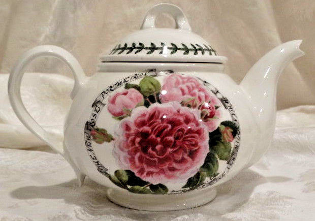 Portmeirion Millenium Rose Limited Edition Tea Pot